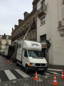 Art Miles Déménagement Rue Kleber à Nantes