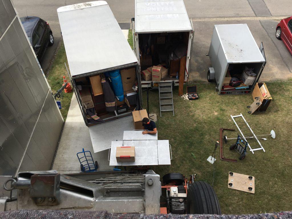 Déménagement et Monte-Meubles Août 2018