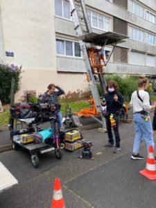 Caméras, Lumières et Son - Tournage du Film Les Compagnons