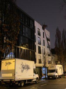 Fin de journée Monte-Meubles Rue Paul Bellamy Nantes