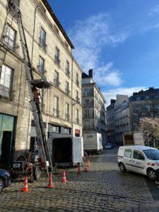 Monte-Meubles sans ascenseur Nantes